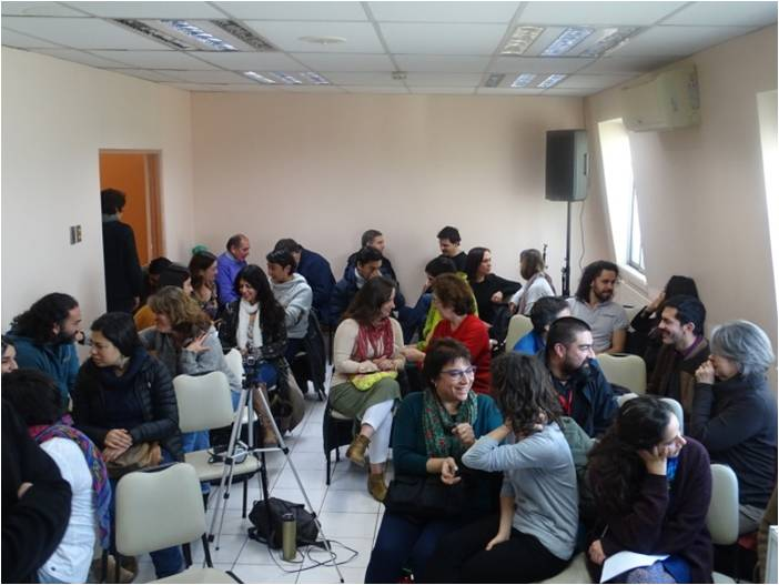 Foto participantes I Jornada Cefex